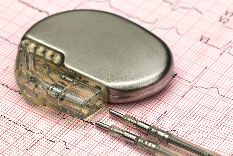 Ein Herzschrittmacher