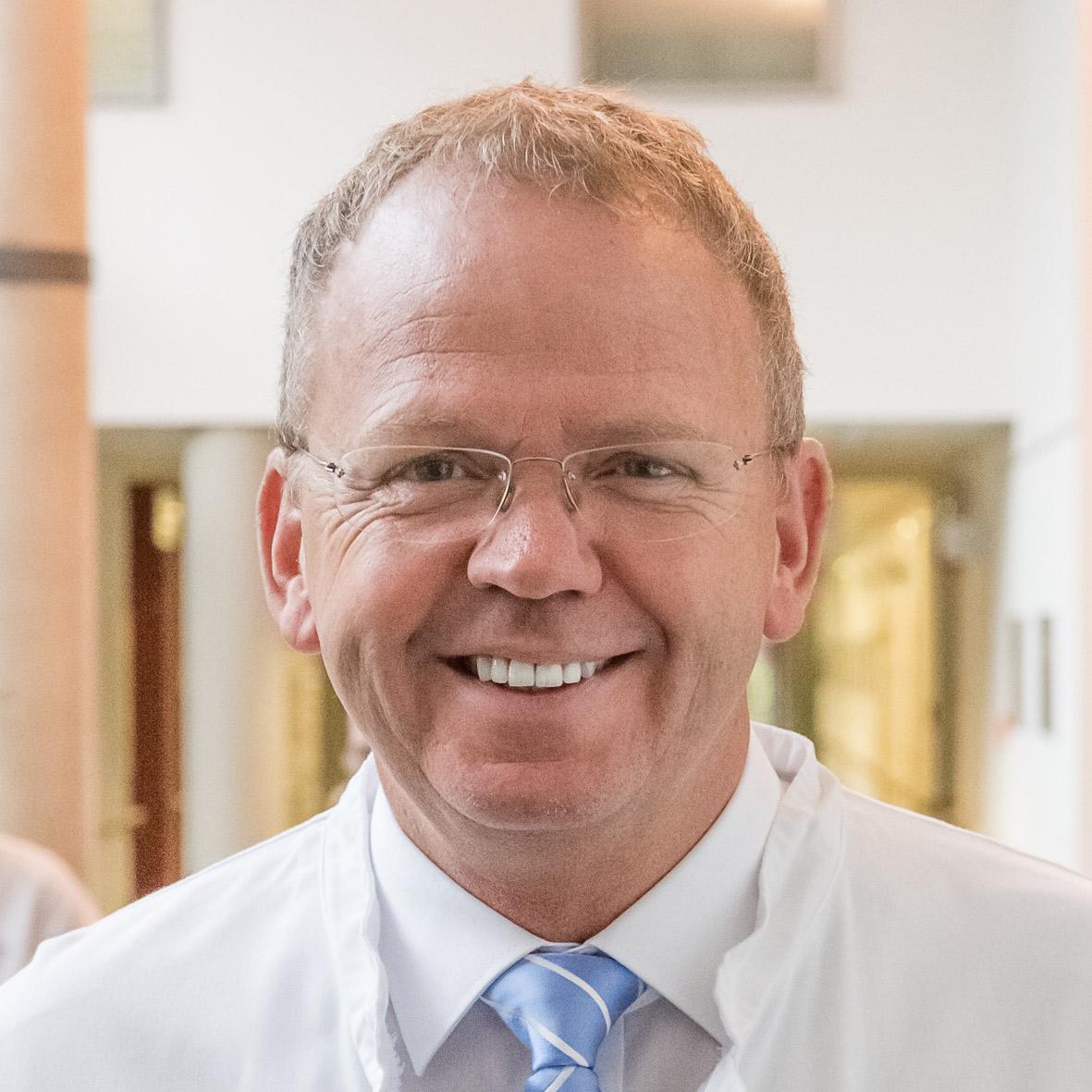 Porträt: Dr. Marcus Wiemer, Uniklinikum Johannes Wessling