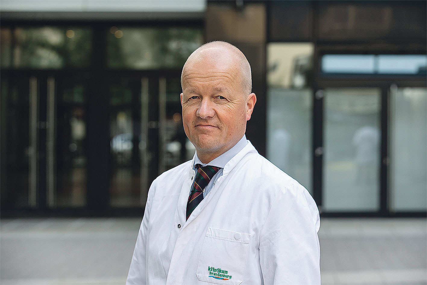 Porträt: Ivo Buschmann, Deutsches Angiologie Zentrum