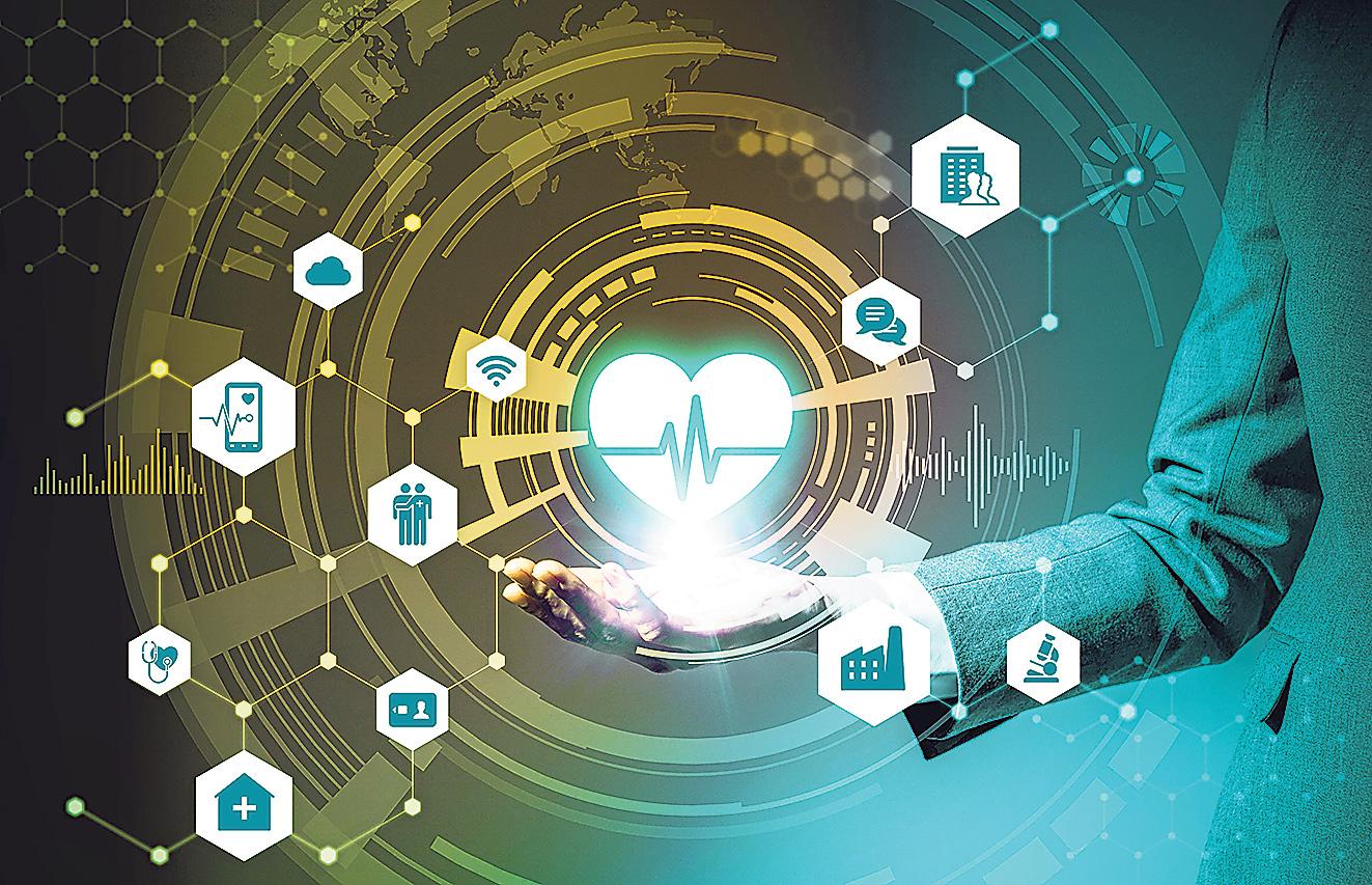 Modell digitaler Vernetzung. Thema: Neue Versorgungskonzepte in der Kardiologie