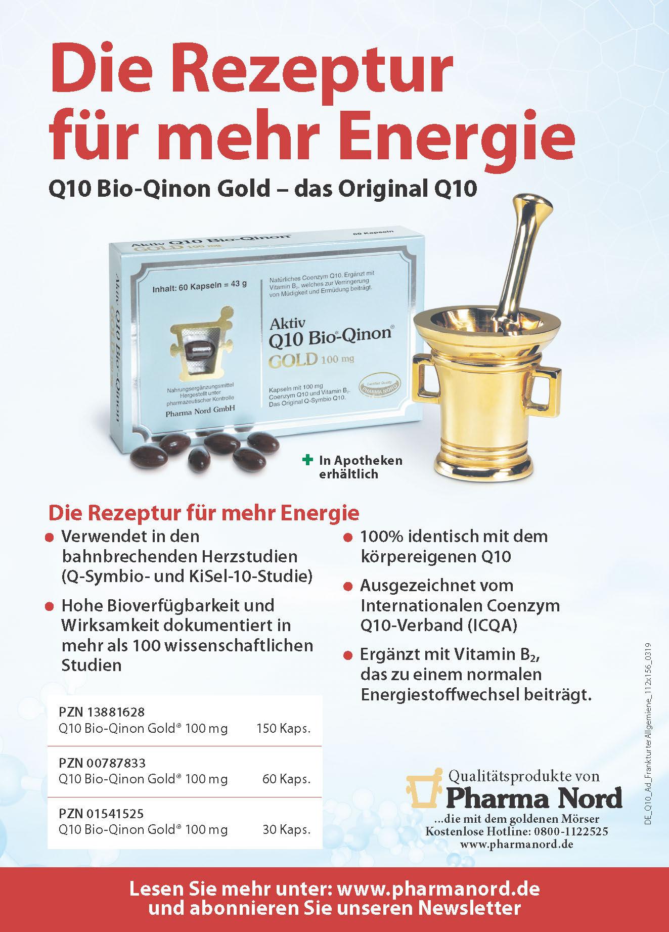 Anzeige: Die Rezeptur für mehr Energie