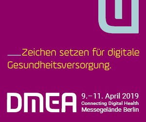 DMEA: Connecting Digital Health, 9. - 11.April 2019