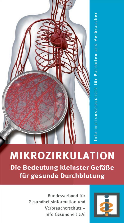 Broschüre zum Thema Mikrozirkulation
