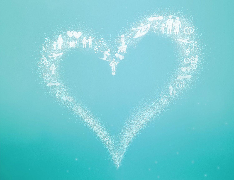 Herz. Thema: Informationsportal Koronare Herzkrankheit